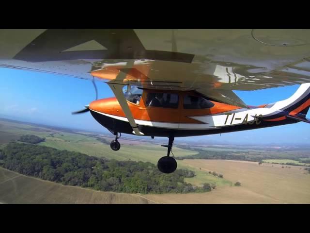C182 GoPro Wingview Landing