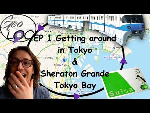 ASIA Ep. 1 - Getting around Tokyo & Sheraton Tokyo Bay