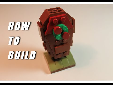 How to Build a LEGO Clash of Clans Skeleton Trap