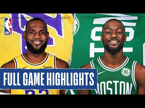 DJ 4eign - Boston Celtics Beat Lakers Setting New Personal Record For Kemba Walker