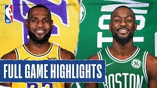 LAKERS at CELTICS | FULL GAME HIGHLIGHTS | January 20, 2020