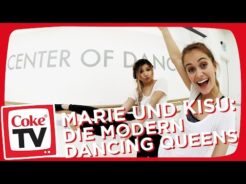 Marie & Kisu: Die Modern Dancing Queens   #CokeTVMoment