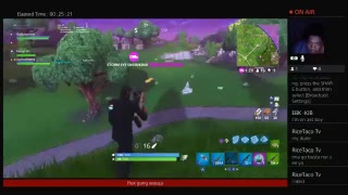 Being funny on fortnite first face cam video