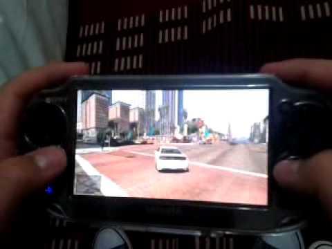gta 5 ps vita gameplay - YouTube