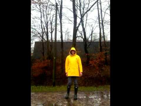 Didriksons yellow raincoat