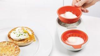 Как приготовить яйца пашот? | Joseph Joseph M-Cuisine(Оригинальное решение от Joseph Joseph для приготовления яиц пашот за считанные секунды. Интернет-магазин https://dom-st..., 2016-06-08T17:44:18.000Z)