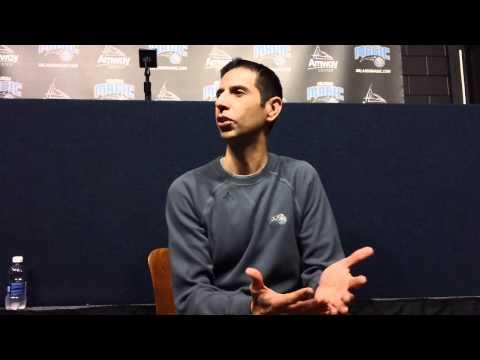 James Borrego Cleveland Cavaliers Pregame Interview