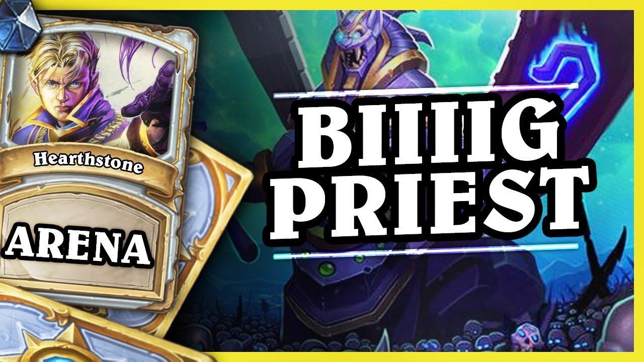 BIIIIG PRIEST – Hearthstone Arena