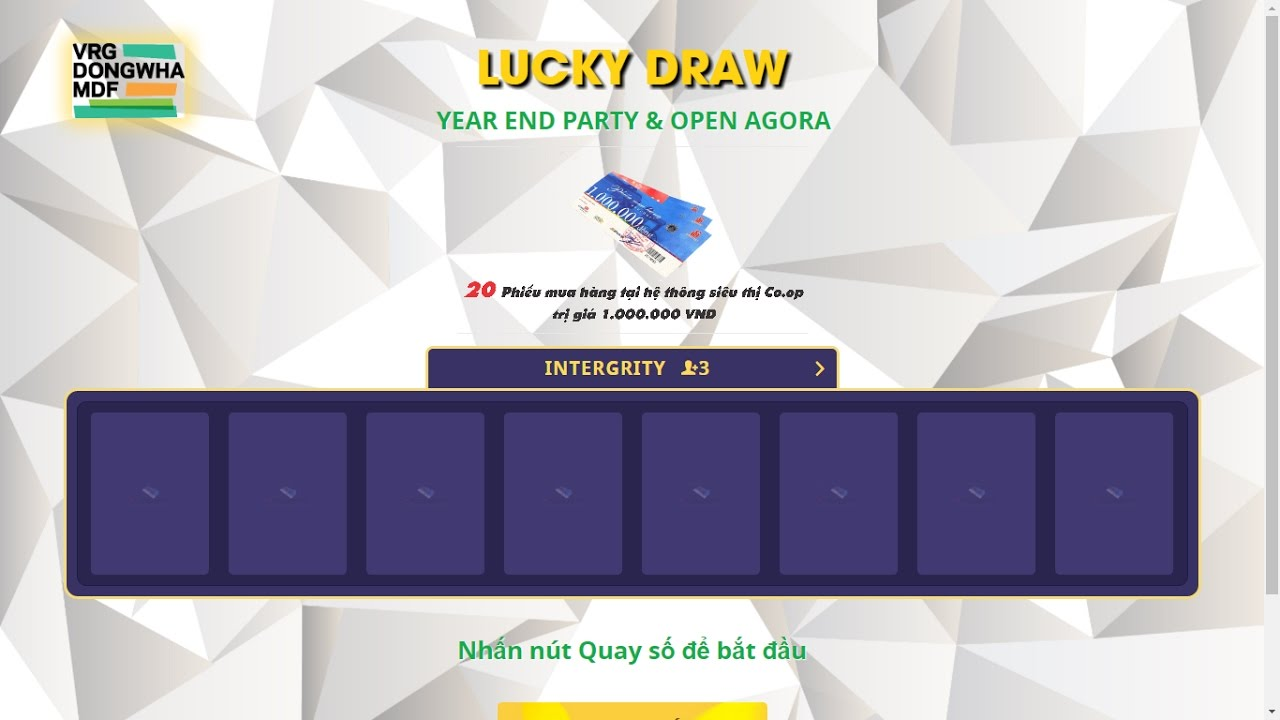 Demo Lucky Draw Software Youtube