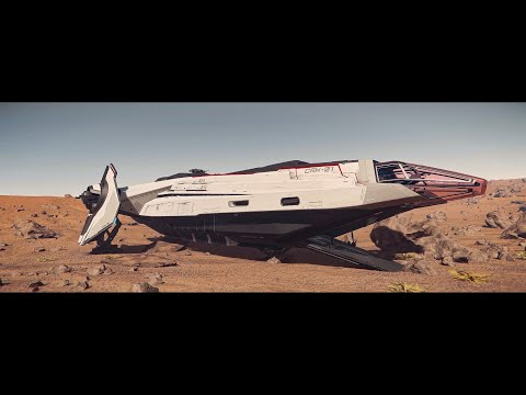 Carrack Expedition First Flight - Star Citizen 4K Ultrawide