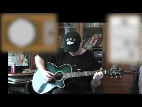 Everybody Hurts - REM - Acoustic Guitar Lesson (detune 1 fret)