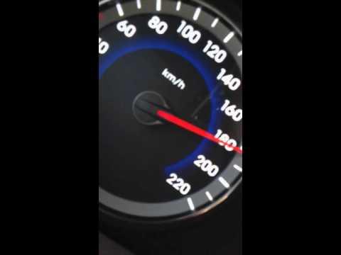Hyundai Accent Blue Top Speed