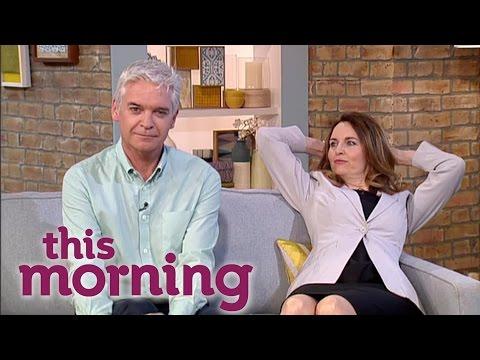 Debra Stephenson Is Amanda Holden  This Morning