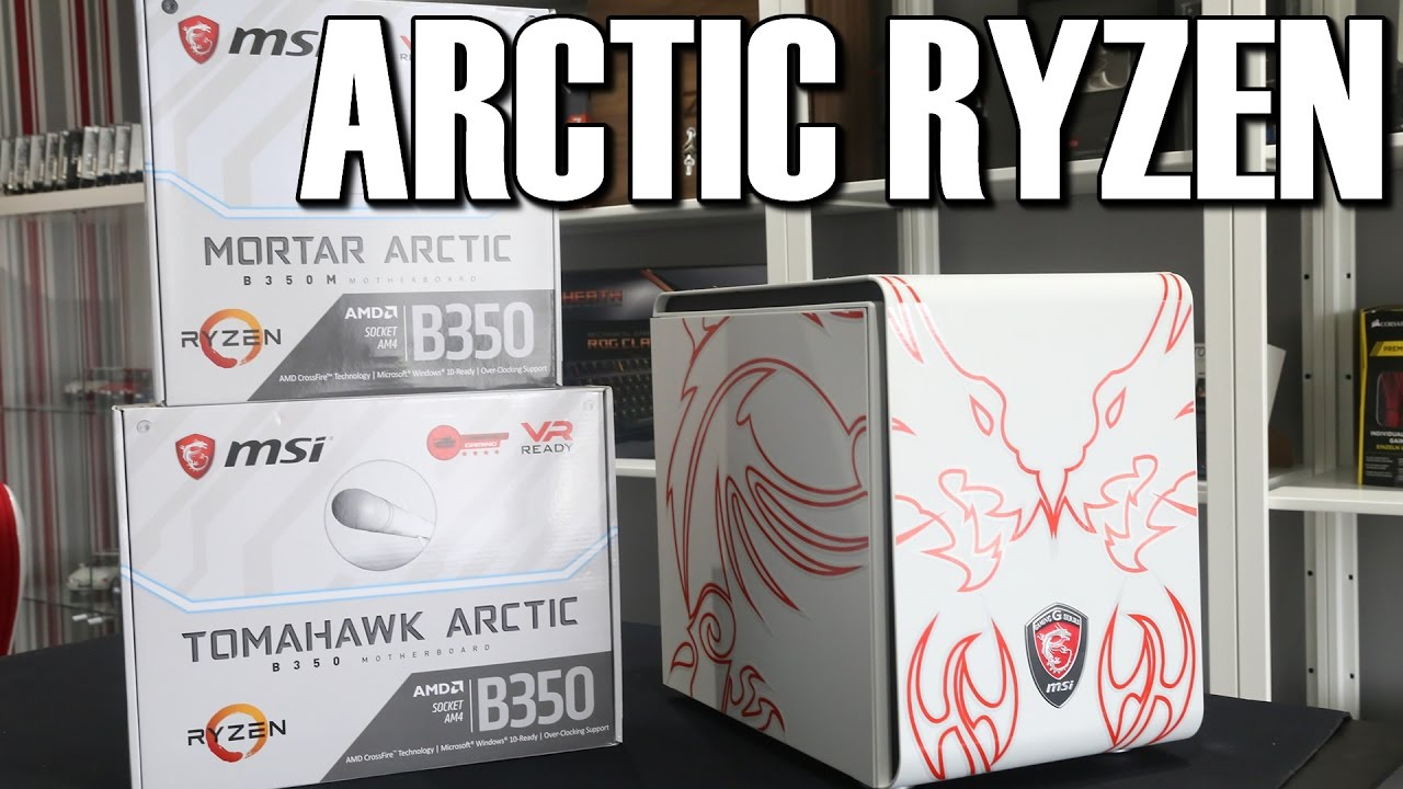 maxresdefault msi b350 tomahawk & mortar arctic white ryzen motherboard review  at eliteediting.co