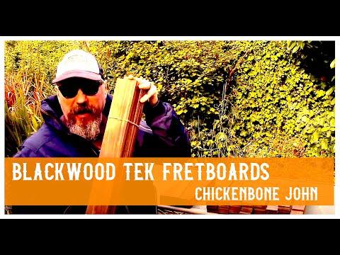 Blackwood Tek Fretboards for luthiers and cigar box guitar makers