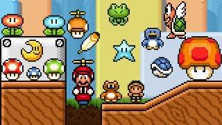 Super Mario Bros X (SMBX 1.4.4) - PowerUps GFX (SMA4 Style) ...