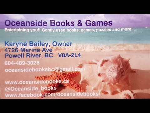 Oceanside Books & Games (What Makes Powell River Great)