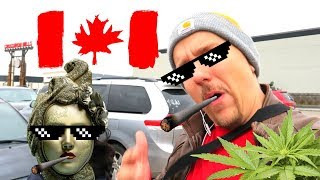 Smoking, Growing and Buying Weed is Legal in Canada