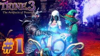 Trine 3 The Artifacts of Power - Gameplay Walkthrough Part 1 - Full Game MAX Settings  [ HD ]