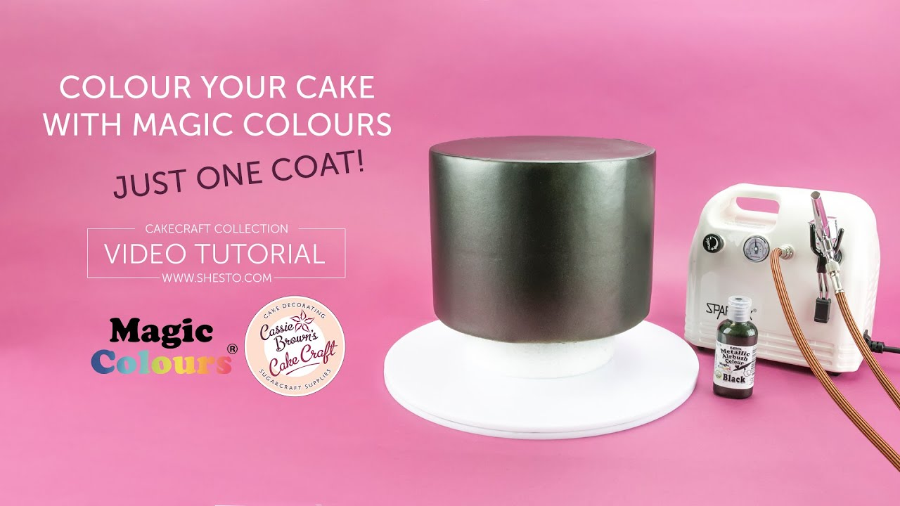 One Coat Colour With Magic Colours Airbrush Paints