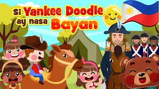 Yankee Doodle Went to Town in Filipino | Kids Nursery Rhymes & Songs | Awiting Pambata