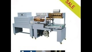 Automatic Film Sleeve Sealing & Shrink Packing Machine With Cutting Systems