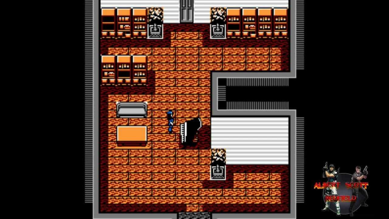 Resident Evil (Nintendo Entertaiment System Rom Hack) Part 3