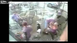 Dog bites woman in face at Colorado restaurant