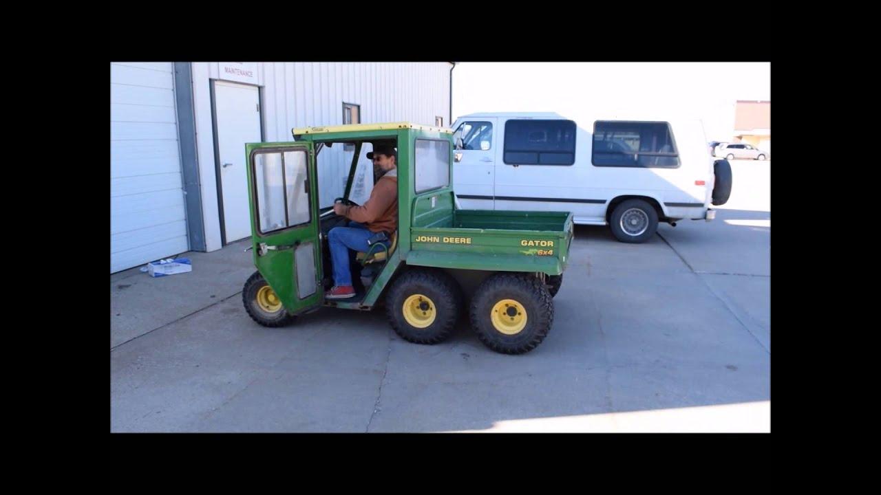 John Deere Gator >> 1997 John Deere Gator utility vehicle for sale | sold at ...