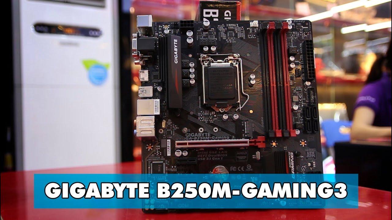 Trên tay Gigabyte B250M-Gaming 3 – Mainboard Kabylake giá cực tốt – An Phat PC
