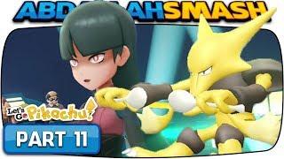 Pokemon Let's Go Pikachu & Eevee - Part 11: SABRINA! (100% Walkthrough)