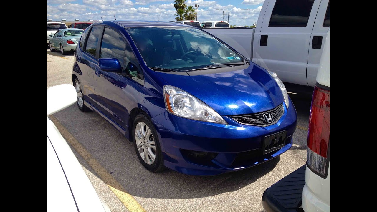 2009 Honda Fit Sport 5AT Start Up, Quick Tour, U0026 Rev   205K (High Milage  Update)   YouTube