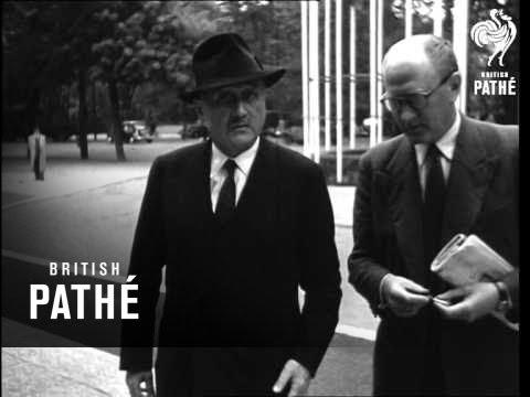First Meeting Of Schuman Plan Assembly (1952)