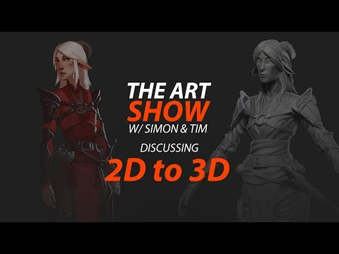 The Art Show Ep.9 From 2D to 3D