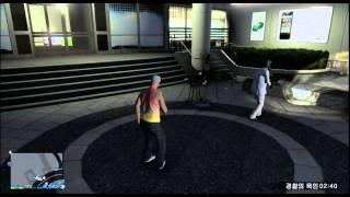 스파키민의 GTA5온라인(PS3) 1.12업뎃 '경찰의 묵인' 공략 part 1
