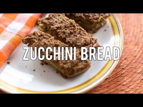 How to Make Zucchini Bread | Gluten, Sugar & Dairy Free