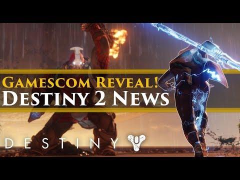 """Destiny 2 News – Gamescom Reveal Trailer? """"Oathkeeper scores?"""" Console Pre-load! New swords!"""