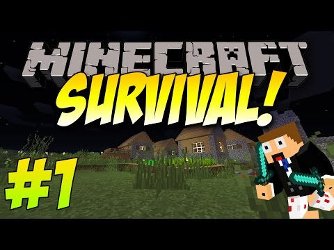 Minecraft   Survival Let's Play   Episode 1   Its a Brand New World!