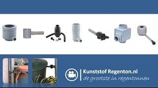 Regenton Vulautomaat | Kunststof regenton.nl