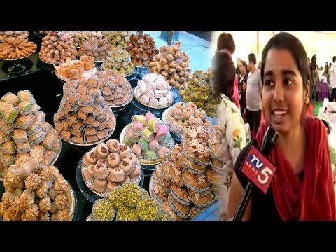 1,000 Desserts In World Sweet Festival | Hyderabad | TV5 News