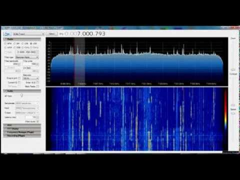 Simple FPGA based SDR receiver (DE0-NANO) - YouTube