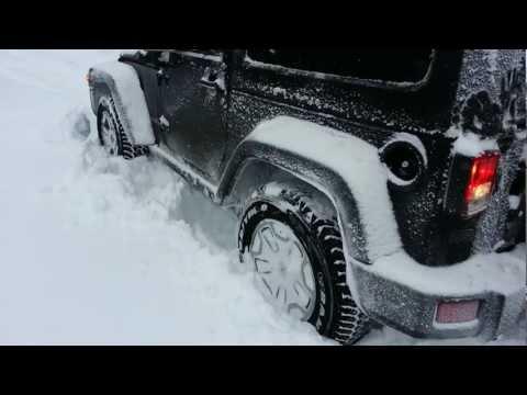 Jeep Wrangler Rubicon MY 2013 DEEP SNOW LOKERS ON 1 15