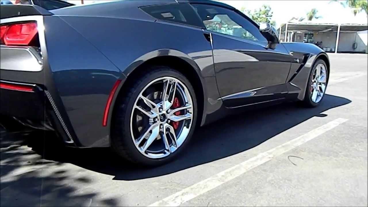 2014 Corvette Stingray Cyber Grey Youtube