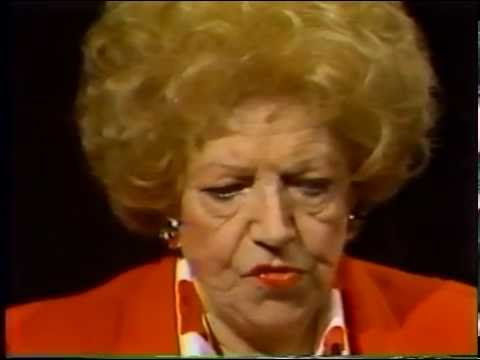 Hermione Baddeley--1986 TV Interview, Mrs. Naugatuck