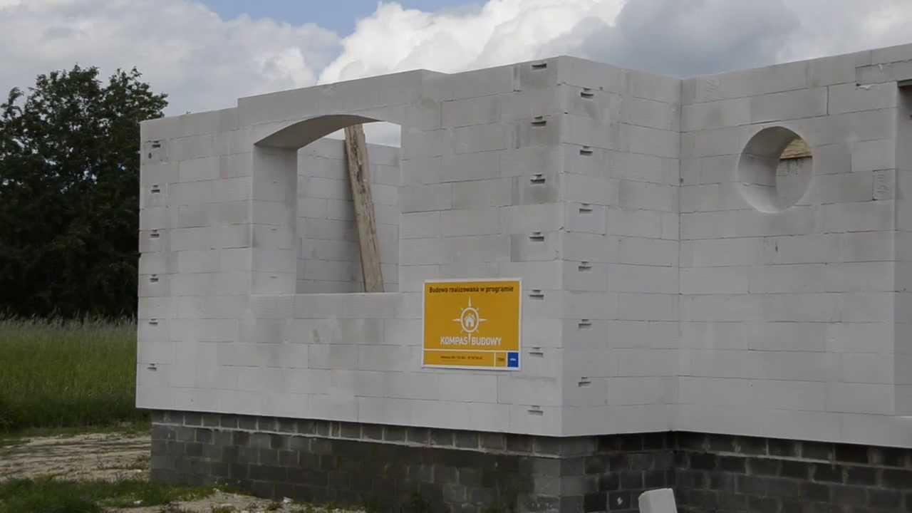 budowa domu z bloczk w ytong energo 48 cm w patoku nowym k. Black Bedroom Furniture Sets. Home Design Ideas