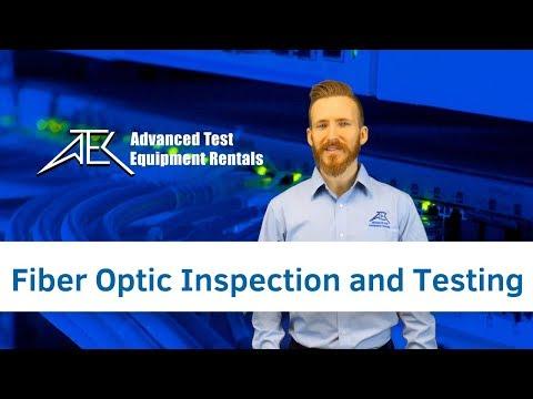 Fiber Optic Inspection And Testing Basics Using ODM TTK 650 Kit