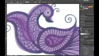 Урок по созданию Логотипа Павлина в иллюстраторе / Lesson to create Peacock Logo in Illustrator