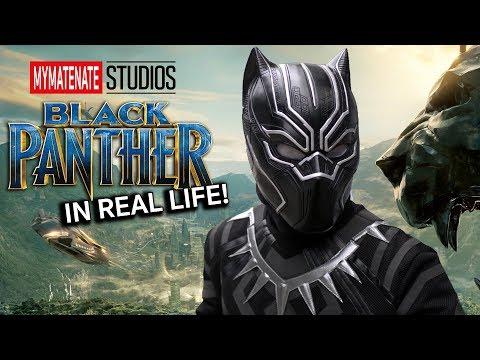 Black Panther ในชีวิตจริง!! | Unofficial Movie