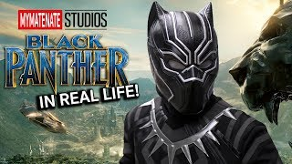 Black Panther meets Parkour in Real Life - 4K!!