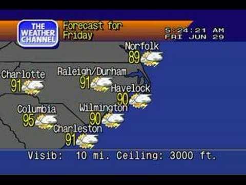 Havelock, NC WeatherStar 4000 Emulator/IS Flavor